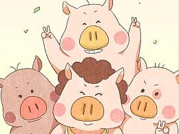 猪妈妈节日快乐!