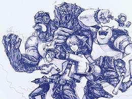 <<台北暗杀星>> 【伊泽瑞尔】【蒙多】【慎】【努努】【发条】