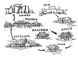 西安景观建筑调研