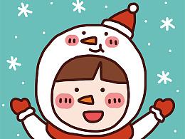 冬日圣诞小头像