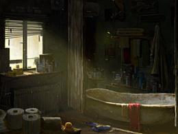 诡异的浴室,分享gif过程