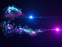 原创AE模板-Elegant Particle Logo