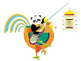 成都国际熊猫灯会/熊猫角色展示--時与間設計