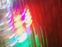 瞬间的闪电和光轨⚡