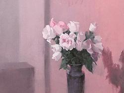 画了一张喜欢的花,太喜欢粉色了。