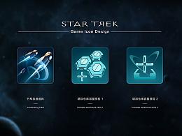 星际迷航游戏图标设计