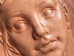 皮雕皮塑人物习作