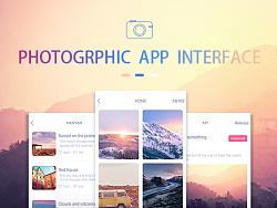 Photography-APP界面
