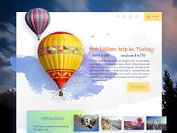 绚丽多彩的网页设计