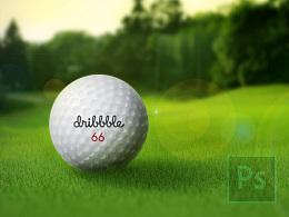 PS拟物习作·高尔夫球