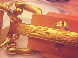 意大利植鞣革纯手工个性皮带|黄铜雕花 Littleton 骑兵扣