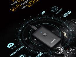 Case智能无线相机控制器Indigogo海外众筹页面 智能科技硬件