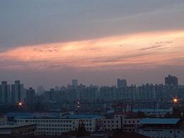 爱上海的理由 家 落日