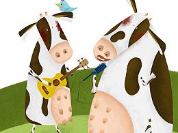 牛牛爱唱歌