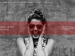 时尚类网页banner设计