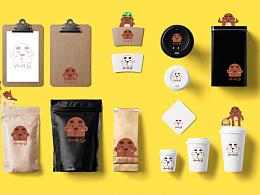熊猴子概念设定-咖啡逗