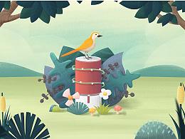 自然之声 鸟语花香- libratone(小鸟音响)