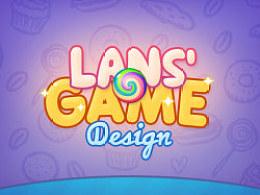 Lans' Game UI Design