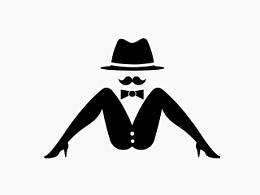 男人装logo设计