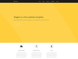 HTML 网页模板 CSS3 设计