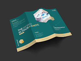 大气  简约  科技产品  电子产品  互联网  房地产  金融三折页