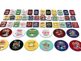 英国餐饮品牌glo《十二星座》插画及周边创作