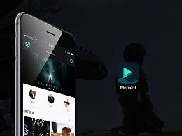 Moment App_Ui Design