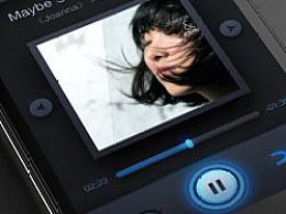 【UI设计】手机app音乐播放器的界面设计practise)