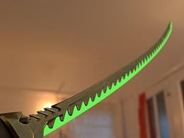 龙神剑建模练习