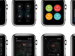 UI设计-哪儿停Apple Watch