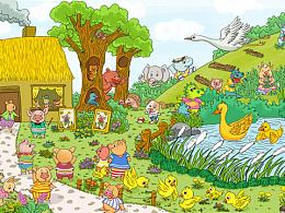 以前的插画-儿童类