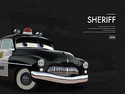 原创作品:PS 写实汽车SHERIFF