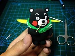 熊本熊-轻黏土