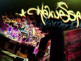 轩尼诗新点壁纸设计lightgraffiti