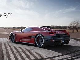Koenigsegg Agera R CGI练习