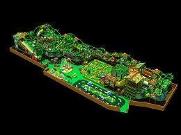 儿童乐园淘气堡森林系列432平方