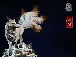 一个九尾狐的涂装