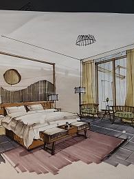 家装手绘效果图