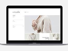 女装网站页面练习