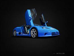 photoshop-跑车