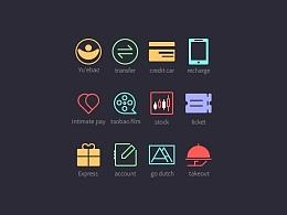 线性图标icon