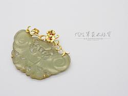 代波军艺术珠宝定制----古玉镶嵌设计作品欣赏集