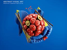 【图形-构成-颜色】抽象视觉试验