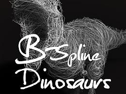 Spline Dinosaurs