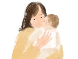 每天都有深深的拥抱