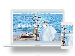 美丽卡洛婚纱摄影旗舰店首页一版