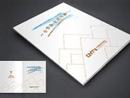 中国网络电视台CNTV周年画册设计