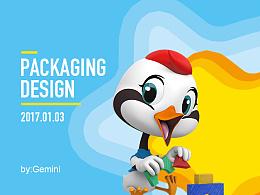 飞鹤 · 星飞帆 · 包装设计——飞小鹤伴你成长