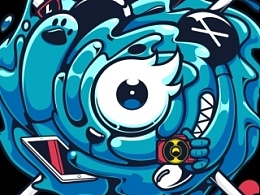 站酷八周年纪念T恤'STAY COOL'   PEMS X ZCOOL