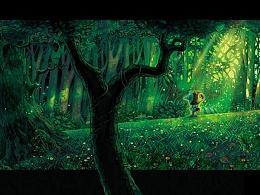 【童画世界 by 雪娃娃】福瑞德与黑暗森林